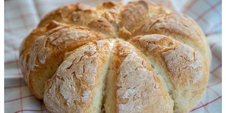 Chlieb v tvare tekvice
