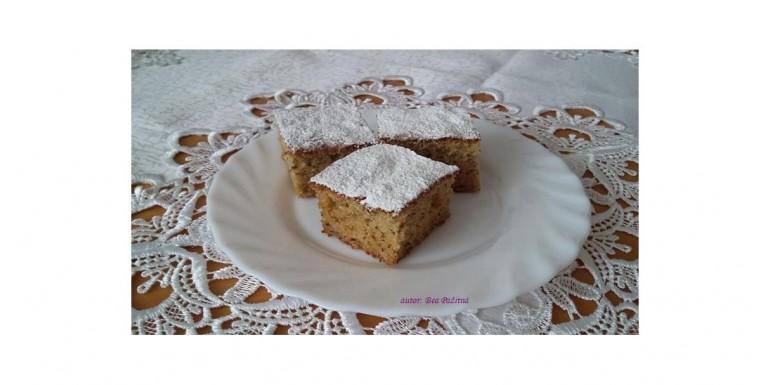 Bezlepkový mandľovo – banánový koláč